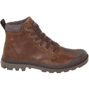 Palladium Pampa Hi Leather Boots - Sunrise Chocolate