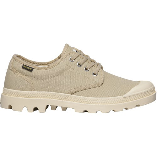 Palladium Pampa OX Originale Shoes - Sahara Ecru