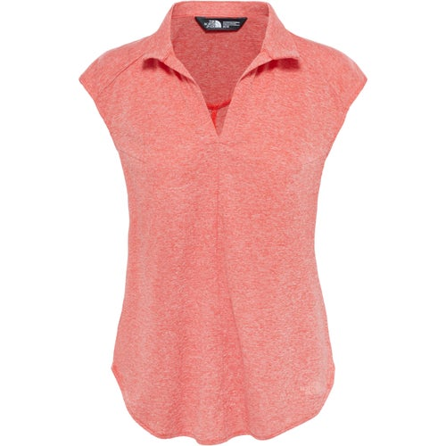 North Face Inlux Sleeveless Ladies Top - Fire Brick Red