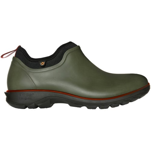 Bogs Sauvie Slip On Low Shoes - Dark Green