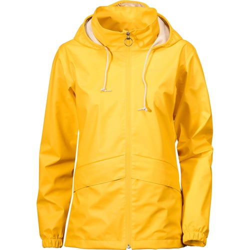 Didriksons Edda Ladies Jacket - Yellow