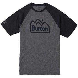 Burton Mountainjack Active T Shirt - Grey Heather