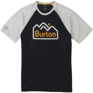 Burton Mountainjack Active T Shirt - True Black
