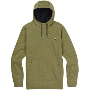Burton Crown Bonded Hoody - Aloe Heather Fleck