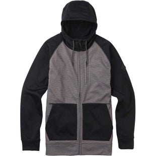 Burton Crown Bonded Hoody - Monument Heather
