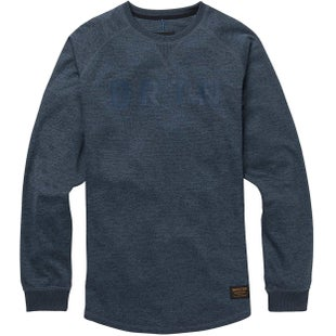 Burton Caption Crew Sweater - Mood Indigo Heather