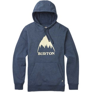Burton Classic Mountain High Hoody - Mood Indigo Heather