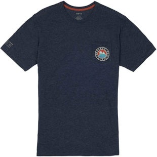 Burton Fox Peak Active T Shirt - Mood Indigo