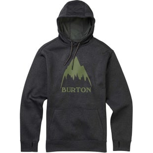 Burton Oak Hoody - True Black Heather