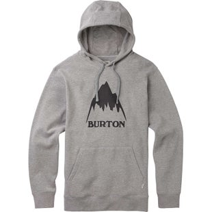 Burton Classic Mountain High Hoody - Grey Heather