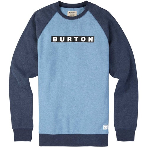 Burton Vault Crew Sweater - Blue Heaven Heather