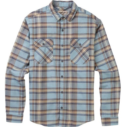 Burton Brighton Flannel Shirt - Winter Sky Stella Plaid