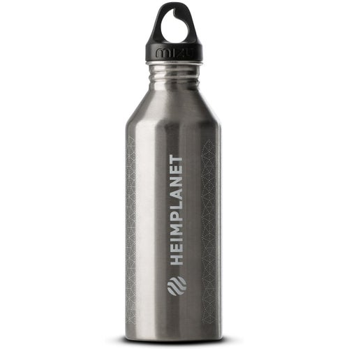 Heimplanet HPT x Mizu Cairo Grid 800ML Water Bottle - Silver White