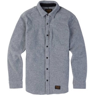 Burton SpillwaySnap Up Shirt - Grey Heather