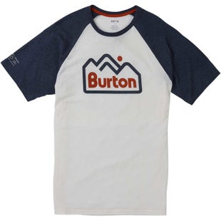 Burton Mountainjack Active T Shirt - Stout White