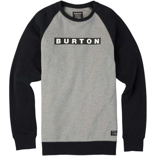 Burton Vault Crew Sweater - Grey Heather