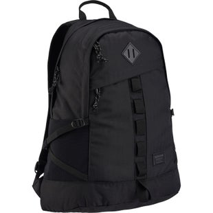 Burton Shackford Backpack - True Black Heather Twill