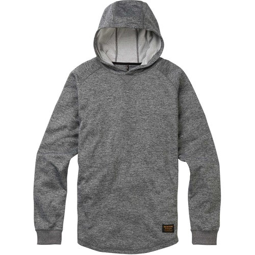 Burton Caption Hoody - True Black Heather