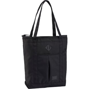 Burton NS Zip Crate Tote Shopper Bag - True Black Heather Twill