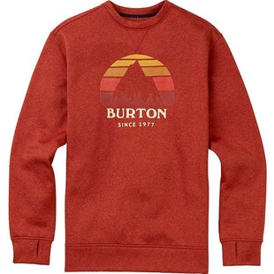 Burton Oak Crew Sweater - Bossa Nova Heather