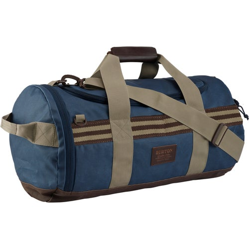 Burton Backhill Small 40L Duffle Bag - Mood Indigo Coated