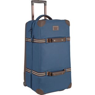 Burton Wheelie Double Deck Luggage - Mood Indigo Coated