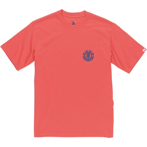 Element S T Shirt - Element Red