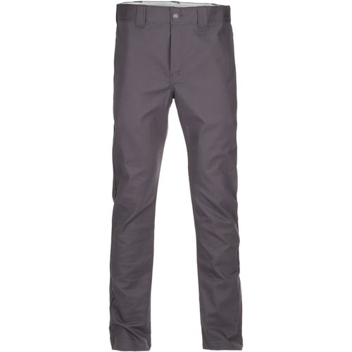 Dickies WP803 Slim Skinny Work Pants - Gravel Grey