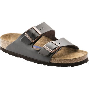Birkenstock Arizona Soft Footbed Smooth Leather Sandals - Brown