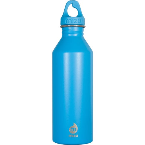 Mizu M8 w Loop Cap Water Bottle - Enduro Light Blue