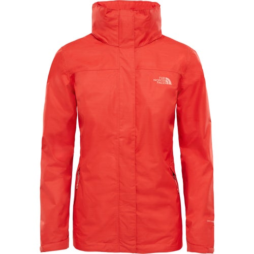 North Face Lowland Ladies Jacket - Fire Brick Red
