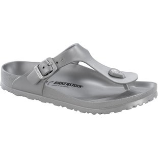 Birkenstock Gizeh EVA Ladies Sandals - Metallic Silver