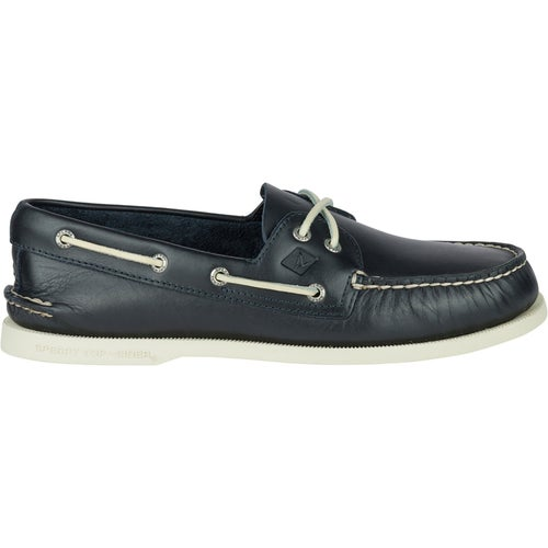 Sperry Authentic Original 2 Eye Slip On Shoes - Navy