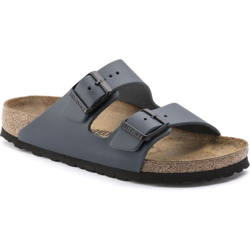Birkenstock Arizona Smooth Leather Narrow Sandals - Blue