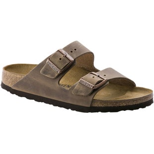 Birkenstock Arizona Soft Footbed Oiled Leather Ladies Sandals - Tabacco Brown
