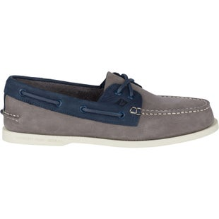 Sperry Authentic Original 2 Eye Washable Slip On Shoes - Charcoal Navy