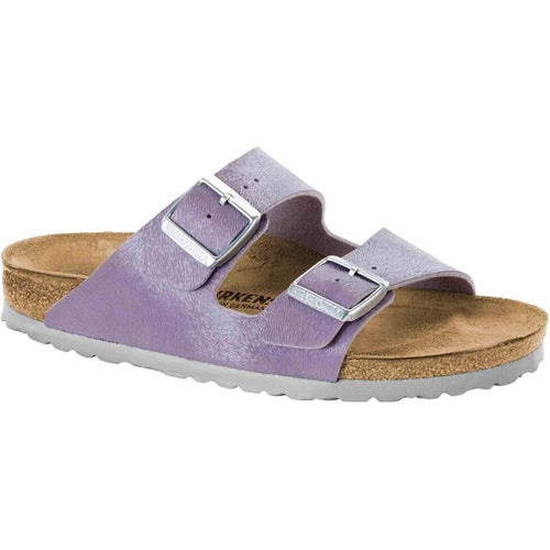 Birkenstock Arizona Birko Flor Sandals - Animal Fascination Purple
