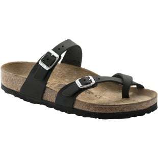 Birkenstock Mayari Oiled Leather Ladies Sandals - Black