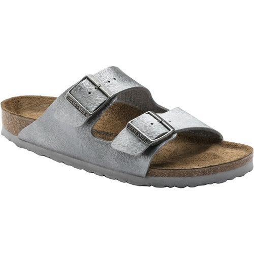 Birkenstock Arizona Birko Flor Sandals - Animal Fascination Grey