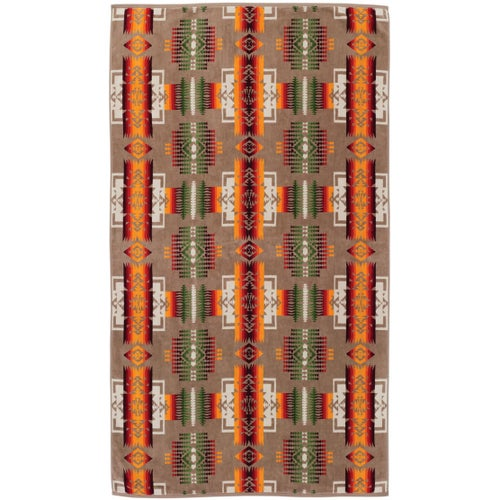 Pendleton Oversized Beach Towel - Khaki