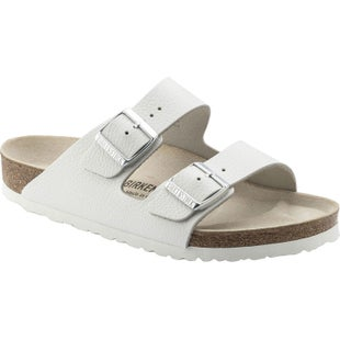 Birkenstock Arizona Nubuck Smooth Leather Ladies Sandals - White