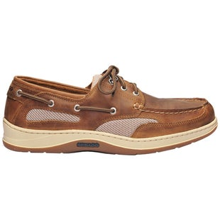 Sebago Clovehitch II Slip On Shoes - Brown Cinnamon Waxed Leather