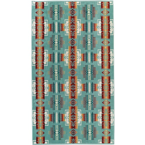 Pendleton Oversized Beach Towel - Aqua