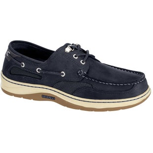 Sebago Clovehitch II Slip On Shoes - Navy Nubuck