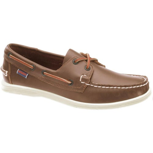 Sebago Litesides FGL Slip On Shoes - Brown Cognac