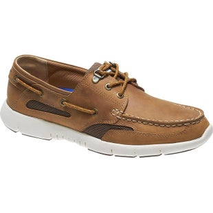 Sebago Clovehitch Lite Slip On Shoes - Brown Tan Waxed Leather