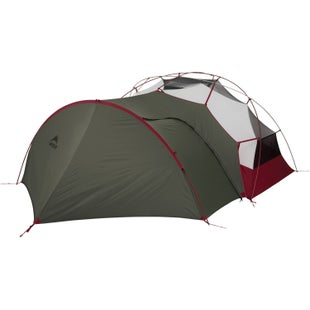 MSR Hubba NX and Elixir Gear Shed Tent - Green