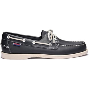 Sebago Docksides Slip On Shoes - Blue Navy Leather