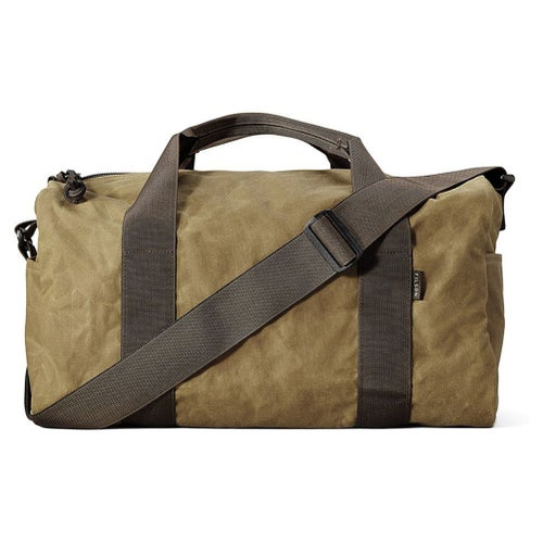 Filson Small Field Duffle Bag - Dark Tan Brown