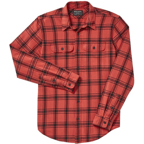 Filson Scout Shirt - Red Black Plaid